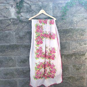 """Betsy Johnson """"Betsy"""" Floral Scarf"""